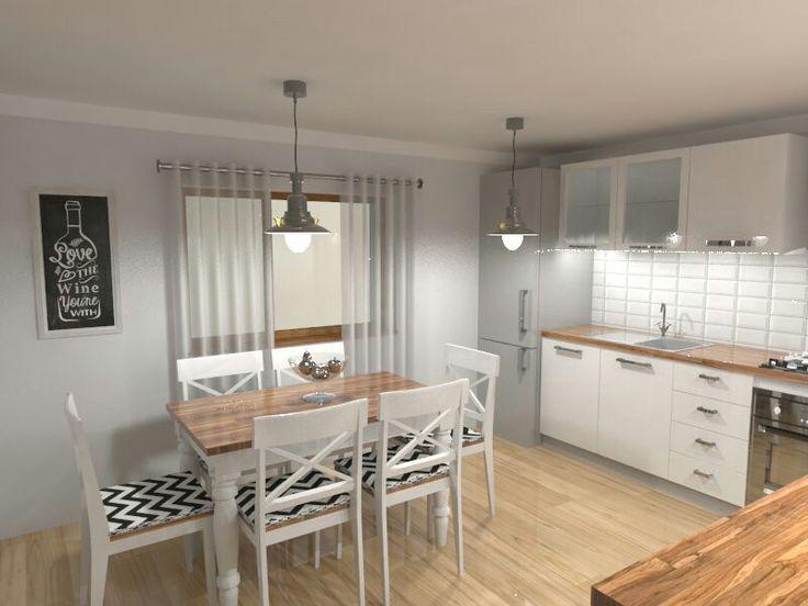 Kitchen design. Sketchup + Vray #design #kitchen #vray #sketchup