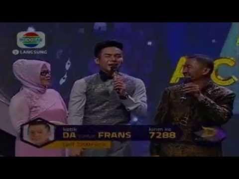 Dangdut Academy Konser Final 6 Besar - Frans Duet Dengan Ayahnya
