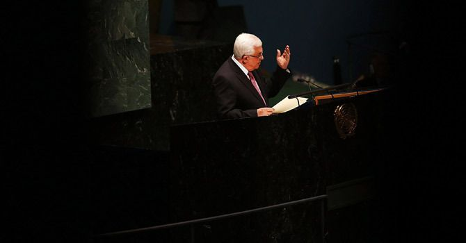 Abbas' Moment in the Sun  by MARK SILVERBERG  December 4, 2012