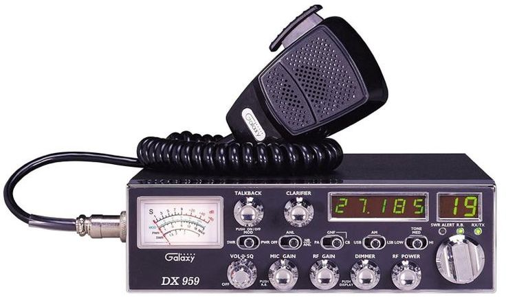 Galaxy DX-949 CB Radio : The true value of a cb radio is measured through the features offered, ease of use and overall quality. Galaxy dx-959 has proven itself as one of the leading units on the market today. The SSB feature sets it apart from competing units. The design is also user oriented with easy installation and use being the main focus. Overall, if you're looking for a reliable cb radio for your vehicle, I would recommend investing in a 959dx.