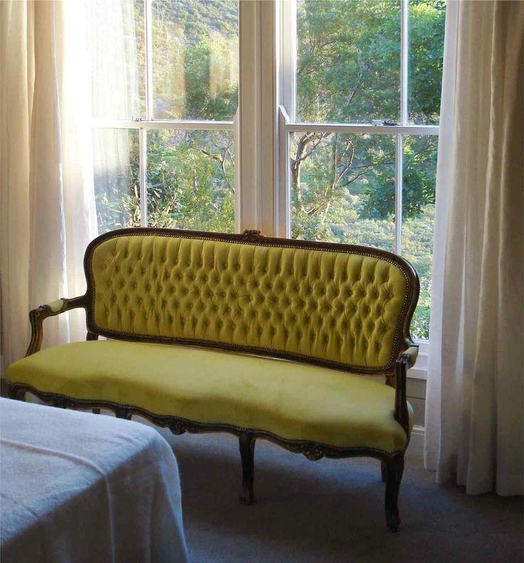 Moleskin Velvet chair - done by Salome Gunter