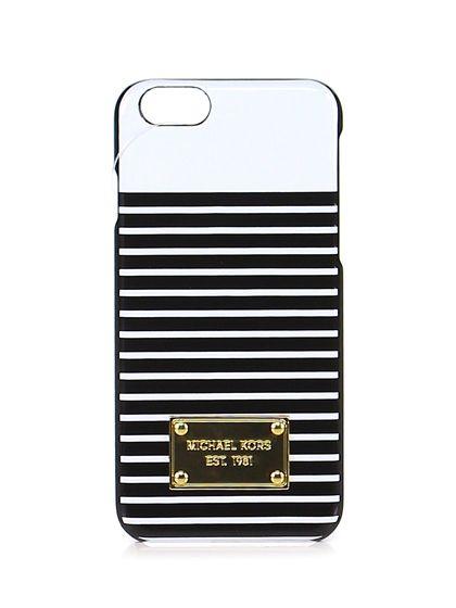 Michael Kors - Accessori - Accessori - Cover per smartphone iPhone 6 stampata. - WHT\BLK - € 50.00