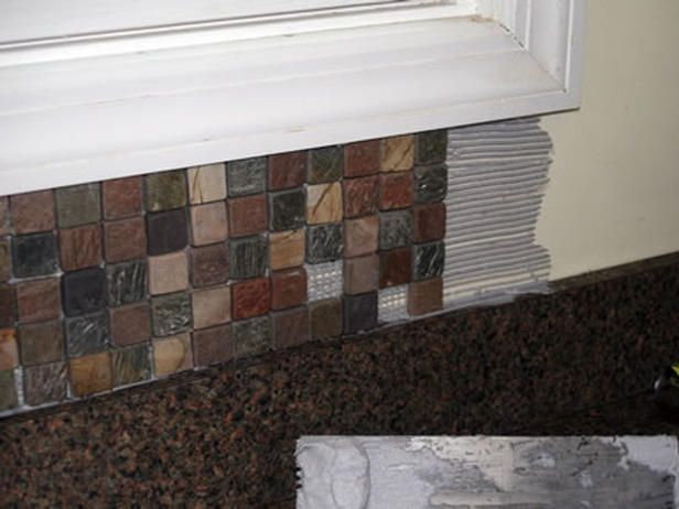 installing kitchen tile backsplash for the home pinterest installing backsplash tile kitchen how install
