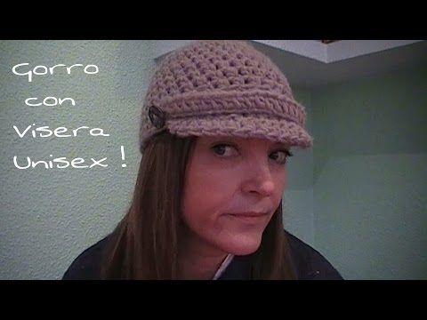 ▶ Gorro con visera Unisex ¡DIY! / Visor cap with - YouTube