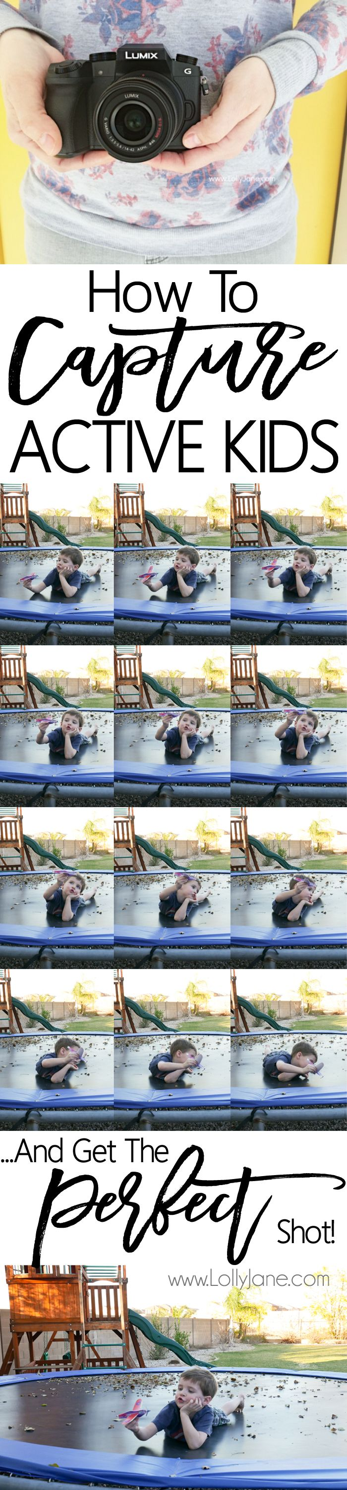 Photography tips: How to capture active kids