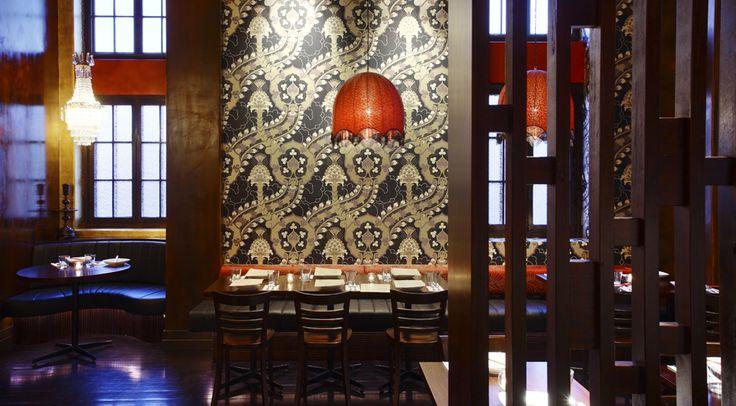 Libertine Restaurant, Brisbane by Arkhefield. Photography: Scott Burrows