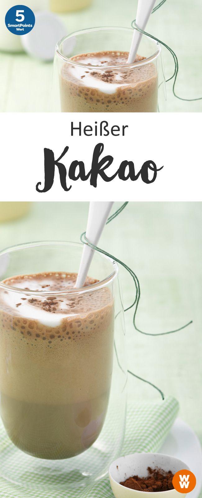 Heißer Kakao   5 SmartPoints/Portion, Weight Watchers, Desserts, fertig in 5 min.