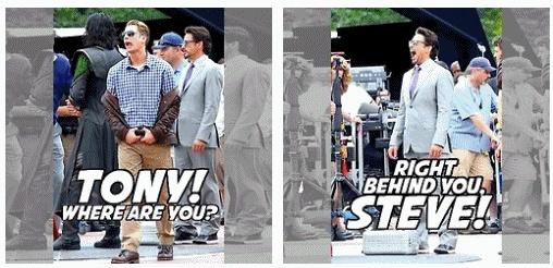 Avengers, Steve & Tony