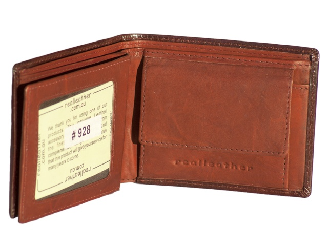 Brand: REAL Leather  Material: Leather, cow hide  Features  10 credit cards slots & some secret slots  One ID card or window  Large coin purse with stud closure  Double rear compartment for bank notes    Om Wallet hand drawn leather