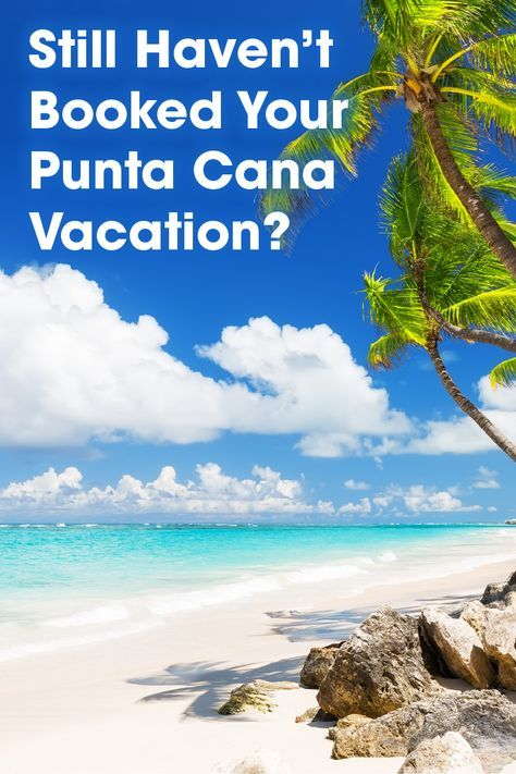 Have you booked your Punta Cana all-inclusive vacation? Book It today with BookIt.com!