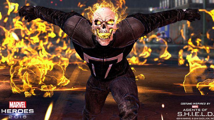 Marvel Heroes 2016 Roll Call: Ghost Rider & Quake   News   Marvel.com