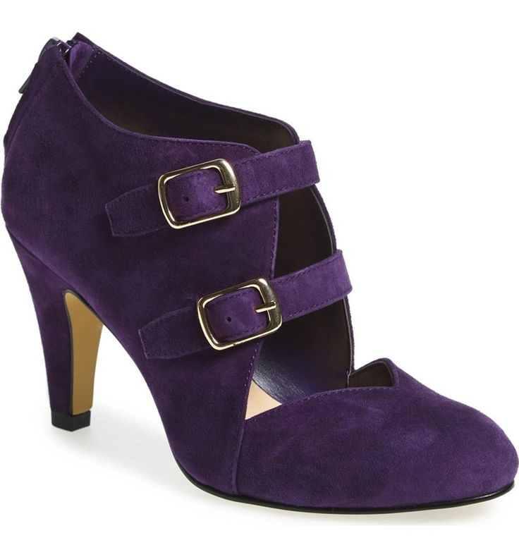 I want these in burgundy and green too! The Good LifePurple ThingsWomen's  PumpsSuede ...