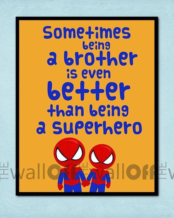 Super Hero Room 8x10 Art Print Sometimes being by OffTheWallbyLeah, $16.00