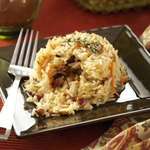 Pecan Rice Pilaf Recipe from Taste of Home -- shared by Jacqueline Oglesby of Spruce Pine, North Carolina