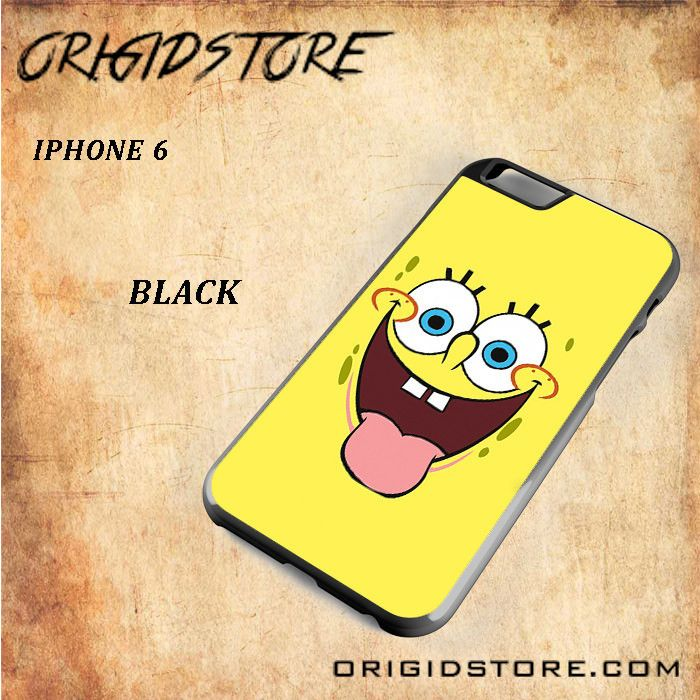 Smile Of Spongebob Squarepants For Iphone 6 Snap On and 3D Case