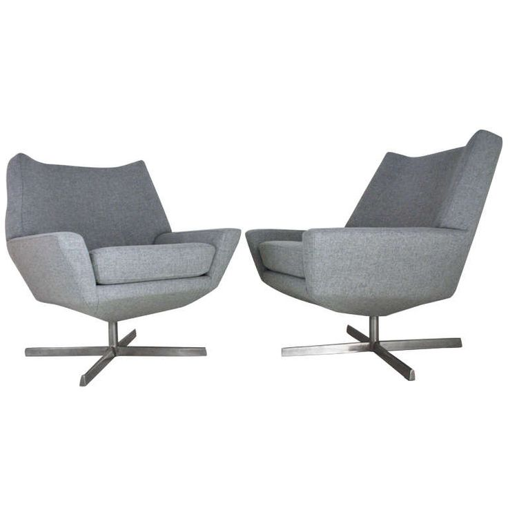 pair of mid century danish swivel chairs fireplaces furniture and mid century modern - Mid Century Modern Furniture Toronto