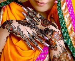 Indian Diwali Mehndi Designs For Hands