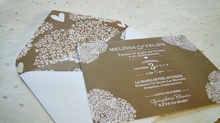 Lo mejor en invitaciones de boda en Bogotá: Las 10 empresas que se destacan por sus diseños Casa Papelera El Cedro