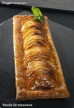 Joseba Arguiñano prepara una tarta de manzana fácil con hojaldre, crema pastelera, compota de manzana y mermelada de albaricoque, postre elaborado en el horno.