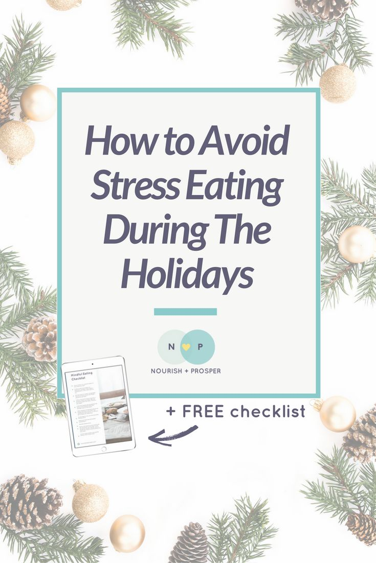 how to deal with stress by eating For some, binge-eating or restricting calories becomes a way of dealing with the stress 6 things you need to know about stress & eating disorders.