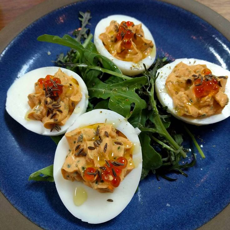 Brunch with us at #Farmshop and try our Deviled Eggs with smoked trout ...