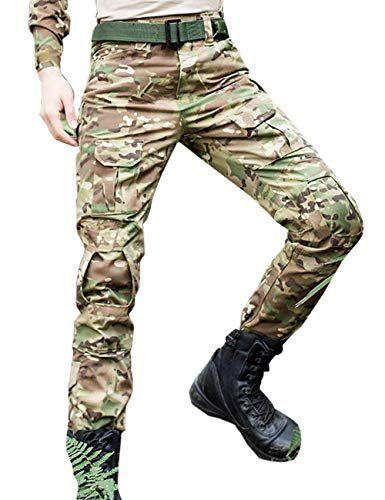 Herren Hose Military Mit Taschen Army Freizeithose…