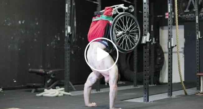 As Suas Pernas Tiveram De Ser Amputadas, Mas o Que Ele Faz é Surpreendente