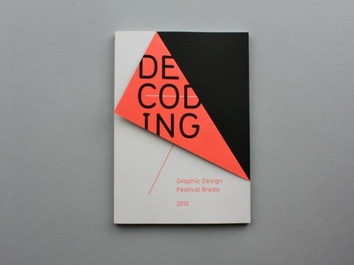 Designspiration — Graphic design / Design for GDFB Catalogue 2010 by Rob van Hoesel  * colour <3 *