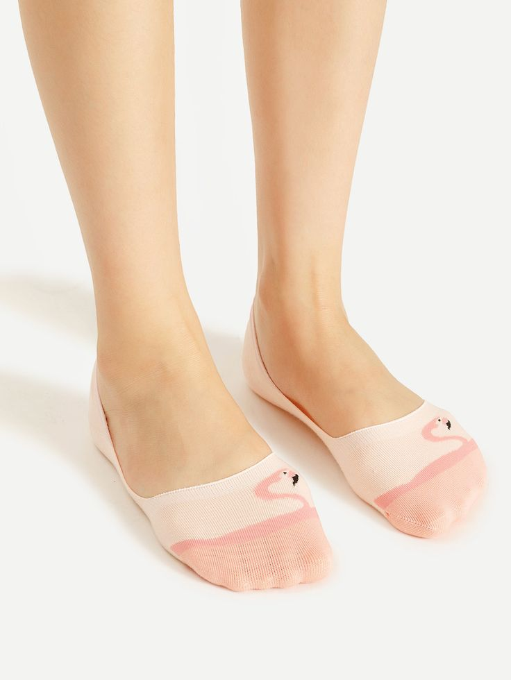 Shop Flamingo Pattern Invisible Socks online. SheIn offers Flamingo Pattern Invisible Socks & more to fit your fashionable needs.