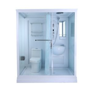Source Cheap and fashinable prefab all in one modular bathroom with washing basi...