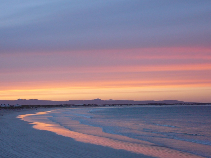 Sunset at Struis Bay, Overberg