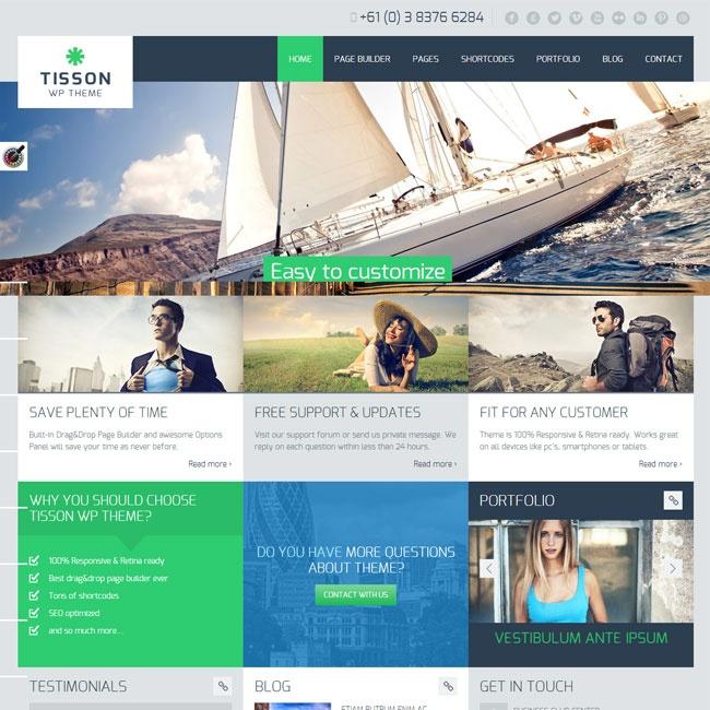 Tisson Premium WordPress Theme | Best WordPress Themes Download 2013