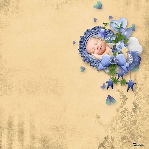 Baby Boy Love by Aurélie Scrap | digital-crea.fr/shop/index.php?main_page=index&cPath=...