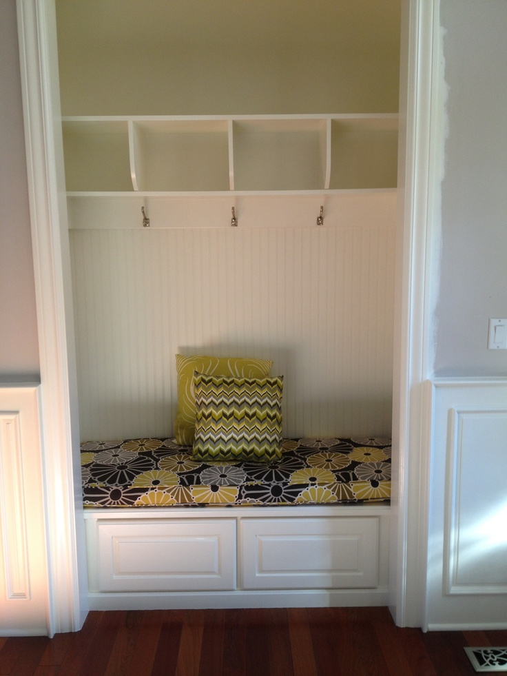 Closet Made Into A Sitting Area Room Ideas Pinterest