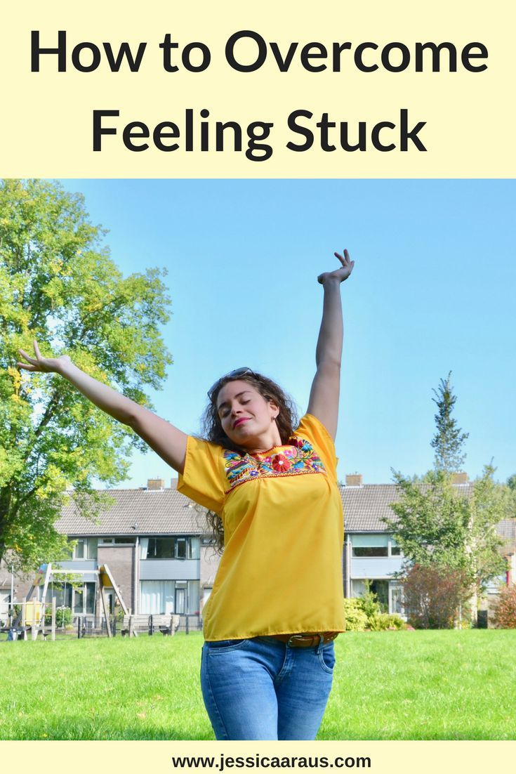 How to Cope With Feeling Stuck