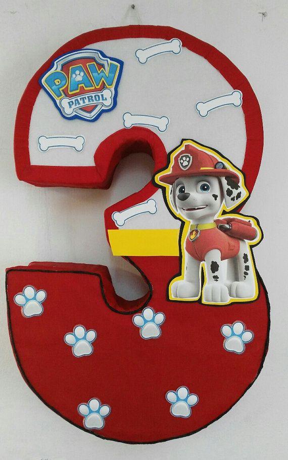 Paw patrol piñata dalmata paw patrol decoracion. paw por aldimyshop