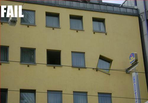 Arquitectura con humor! Fails, calamidades, bochornos y mas