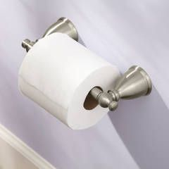 Shop Moen Caldwell Mediterranean Bronze Surface Mount Toilet Paper Holder at Lowes.com
