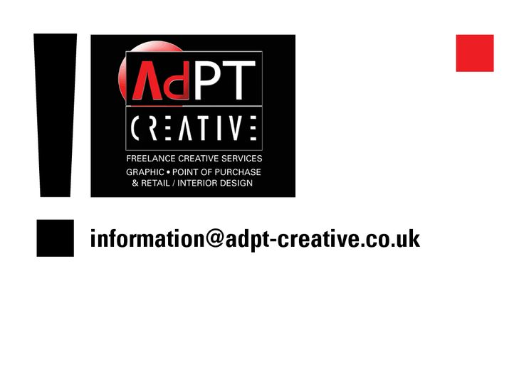 CLICK IMAGE TO ACTIVATE Attention: Brand Leaders / Managers, Marketers and Buyers. Planning a New Promotion or Product Launch?  Ad PT Creative enjoy a challenge and would like to hear from you. Ad PT Creative - Skill scope includes:  Graphic / Art work solutions for flat print and new product packaging development; design and manufacture of permanent 3D POS & Retail display and temporary promotions FSDU's, OFD's for retail & grocery. VM.