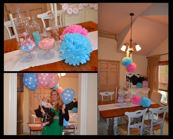 Baby Gender Reveal Party Decorations