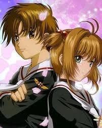 Sakura and Li From Card Captors