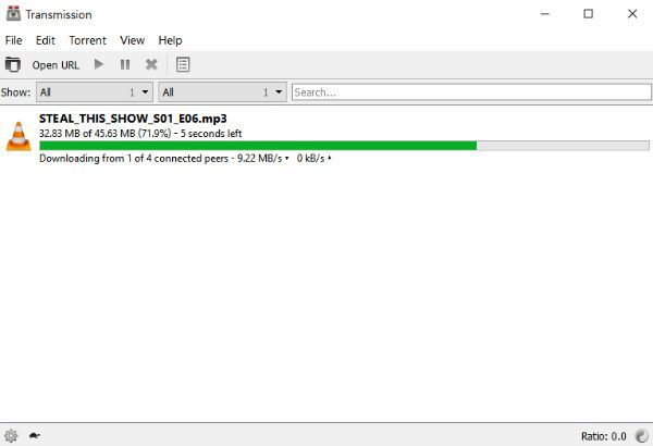 Transmission BitTorrent client now available for Window