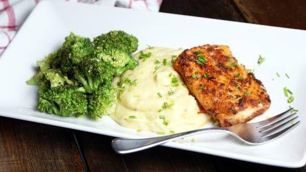 Blackened Atlantic Cod with Root Vegetable Mash (Recipe) | Breaking Muscle