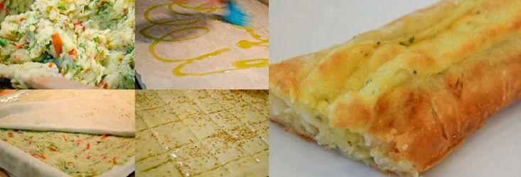 ΠΑΤΑΤΟΠΙΤΑ ΜΕ ΜΥΡΩΔΙΚΑ   Υλικά   1 πακέτο χωριάτικο φύλλο  1 krg πατάτες  2 πιπεριές φλωρίνης κομμένες σε λεπτές λωρίδες  2 κρεμμύδια κ...