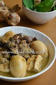 Diah Didi's Kitchen: Terik Ati Ampela, Telur dan Tahu...Satu Menu.. Enak & Komplet..^_^