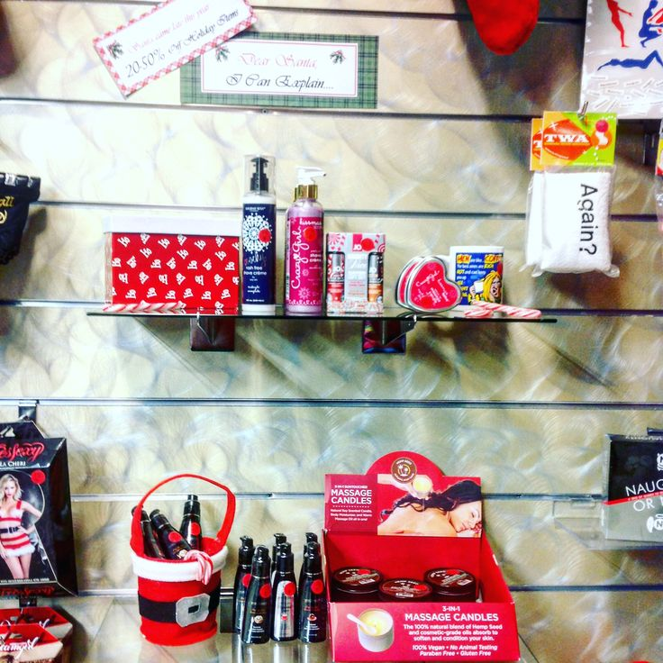 Santa came late this year! With sweet deals! Your favorite seasonal body products and gag gifts don't have to just be used before Christmas! All now on clearance!  #bathandbody #gaggifts #seasonal #flavored #christmas #holiday #xmas #adulttoys #sexpositive #sensuality #love #romance #couples #giftideas #display #adultshop #lingerieshop #sexy #sexygifts #december #winter #norcal #northbay #sonomacounty #sex #spiceitup #whatsyourfantasy