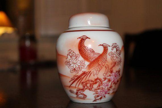 Vintage Japanese Porcelain Canister