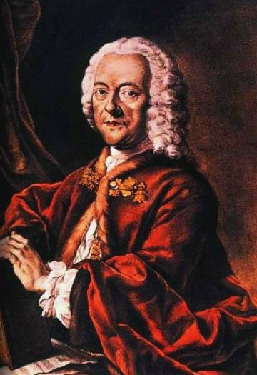 "Georg Philipp Telemann (1681-1767), he of ""400 Variations on the Equilateral Triangle"" fame."