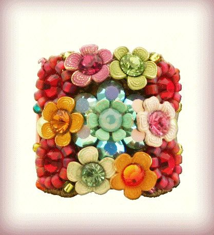 The Floral Rosette Ring 5002043713 Orly Zeelon by OrlyZeelon