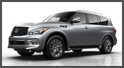 2015 Infiniti QX 80    I absolutely LOVE this car. I haven't even had time to figure out all that it does... but it sure makes driving easy!